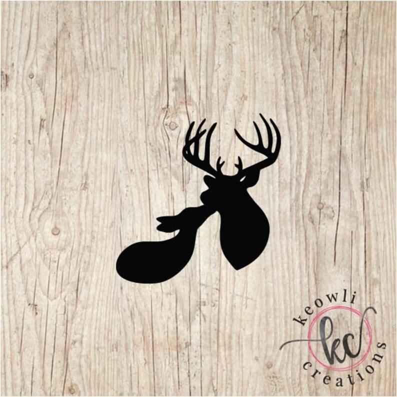 Deer Vinyl Decal-Style 09