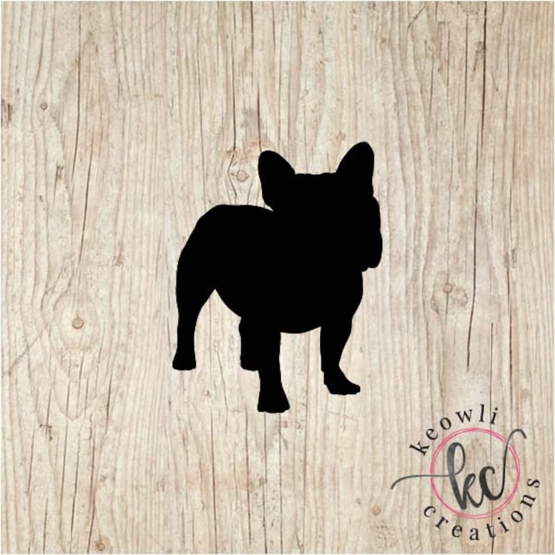 French Bulldog Vinyl Decal-Style 02