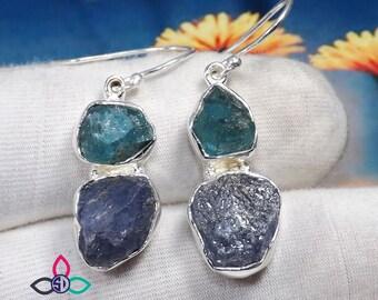Rough Gemstones Jewelry