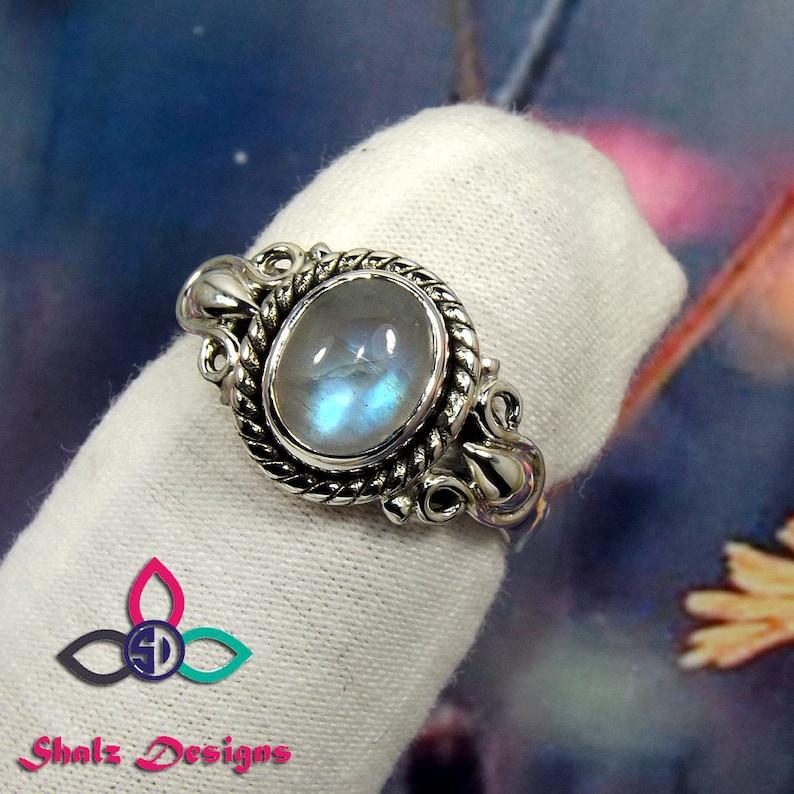 Engagement Ring Black Friday Sale Moonstone Ring Rainbow Moonstone Designer Ring Rainbow Ring Natural Rainbow Rainbow Moonstone Ring