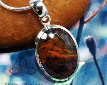 Pietersite Pendant,  Pietersite Gemstone,  Pietersite Jewellery, SOlid Silver Pendant, Handmade Pendant, Black Friday Sale, Mother Day Gift