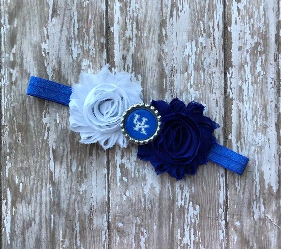 toddler University of Michigan elastic infant or adult sized headband bow