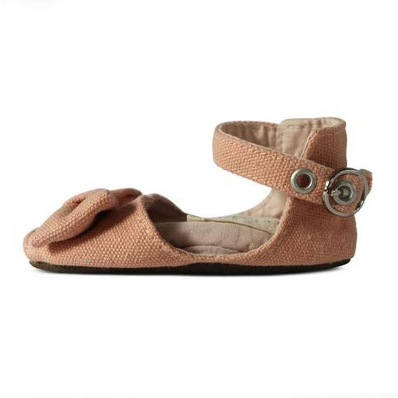 Mary Jane Peep toes crawlers and walkers rose perfect for newborn Soft soled washable baby shoe Pre walkers