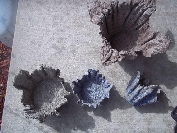 Hand Made Recyklingu Ręcznikicementu Doniczki