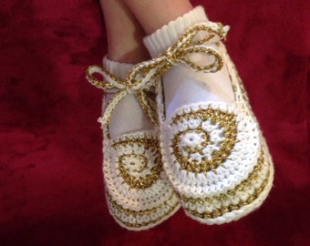 Candy Sandals pattern in English only