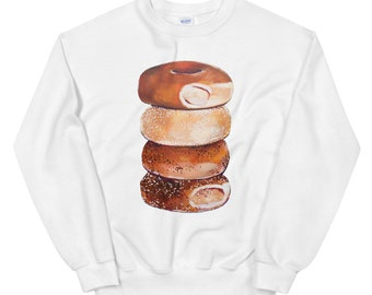 Bagel Stack Unisex Sweatshirt