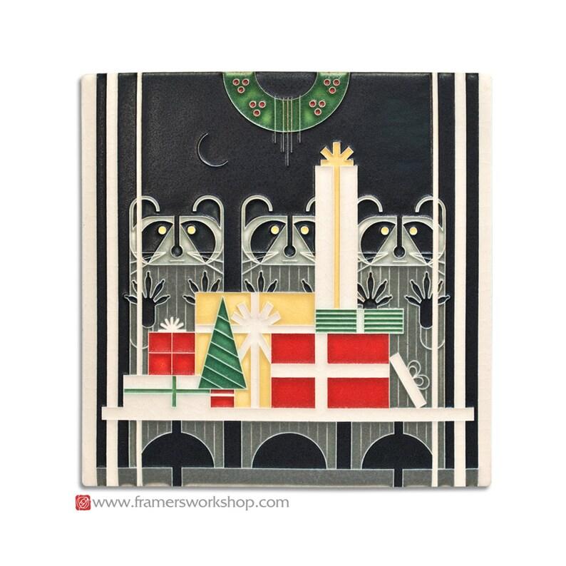 Charley Harper Design Gift Rapt Motawi Tile