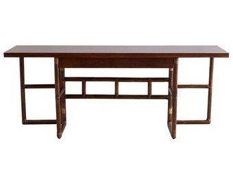 McGuire Flip Top Server Console Or Dining Table