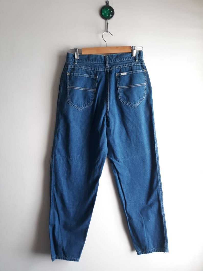 Vintage L.L Bean High Waist Jeans   Mom Jeans  Vintage Size 14 Modern Size 28 x 29