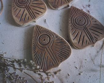Ceramic Incense Holder - Ouija Planchette