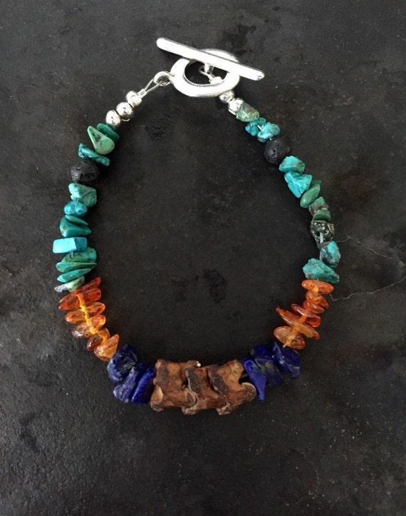 Little Guy DIY Colorido Cristal Cuentas Pulsera ni/ñas Regalos Caja Conjunto Cadena de Hueso de Serpiente