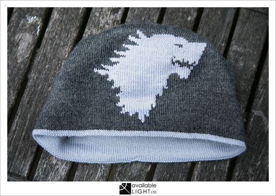 7463cf42f0a HAT KNITTING PATTERN Direwolf game of thrones