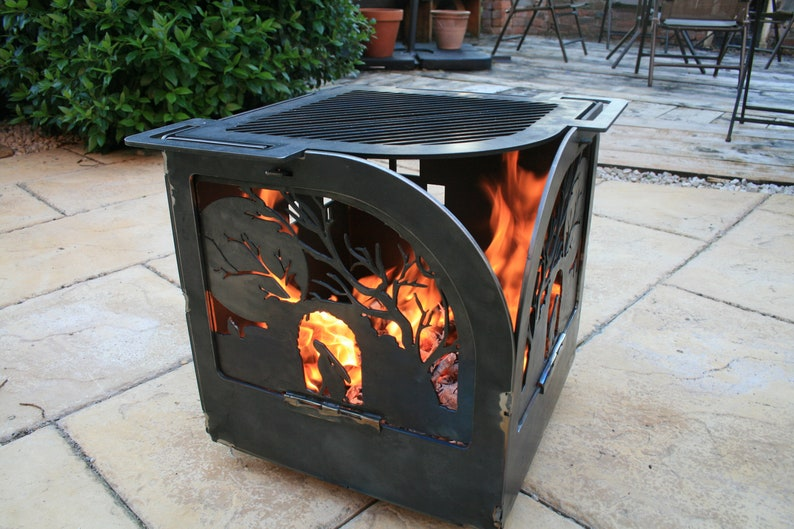 The Pixal fire pit and grill image 0