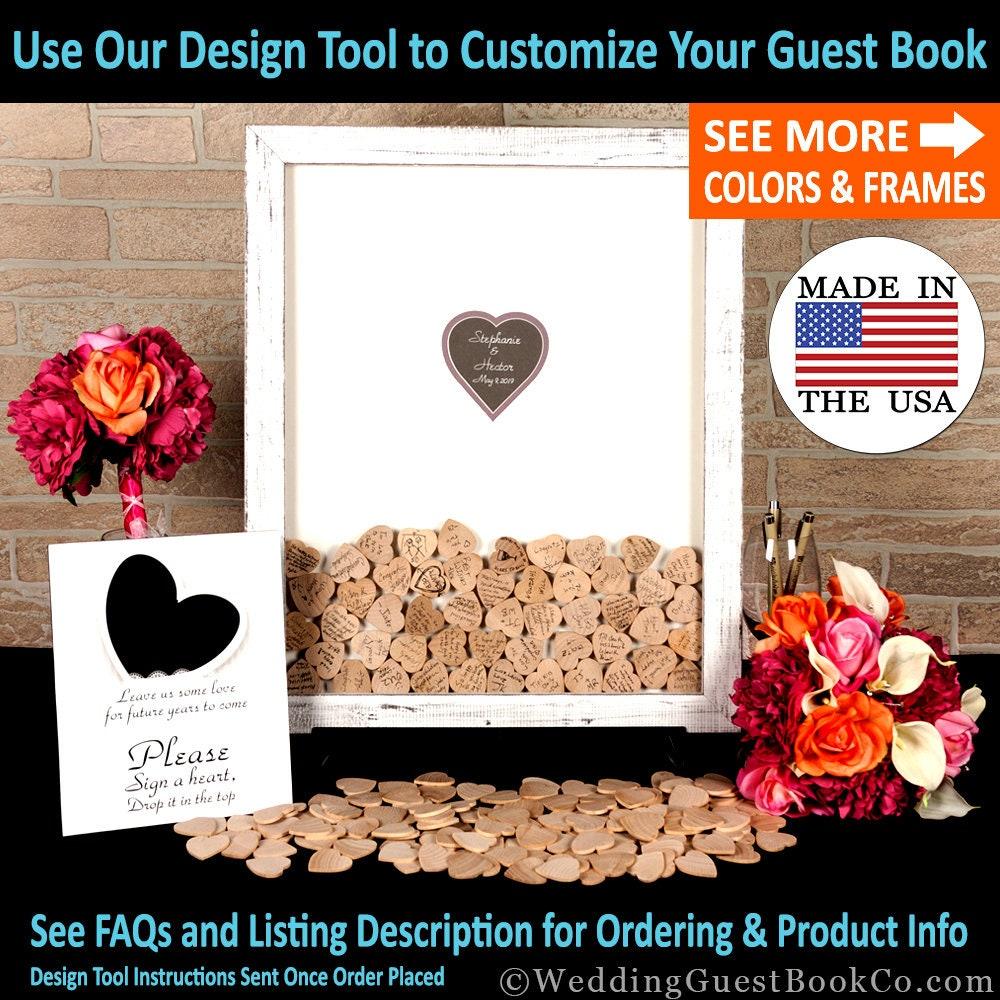 Unique Wedding Guest Book Alternative Rustic Wedding Guestbook | Etsy