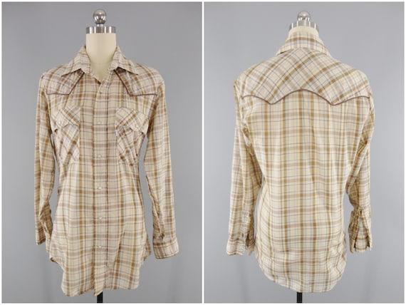 1970s Vintage Western Shirt / Women's Western Wear