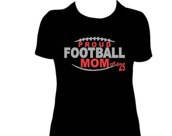 Personalized Proud Football Tee