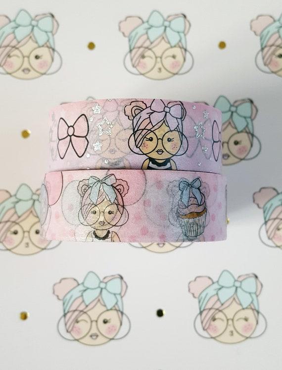 Tickled Pink Self Care Washi Samples
