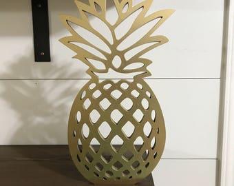 Wooden Pineapple Laser Cutout e06243ccf5