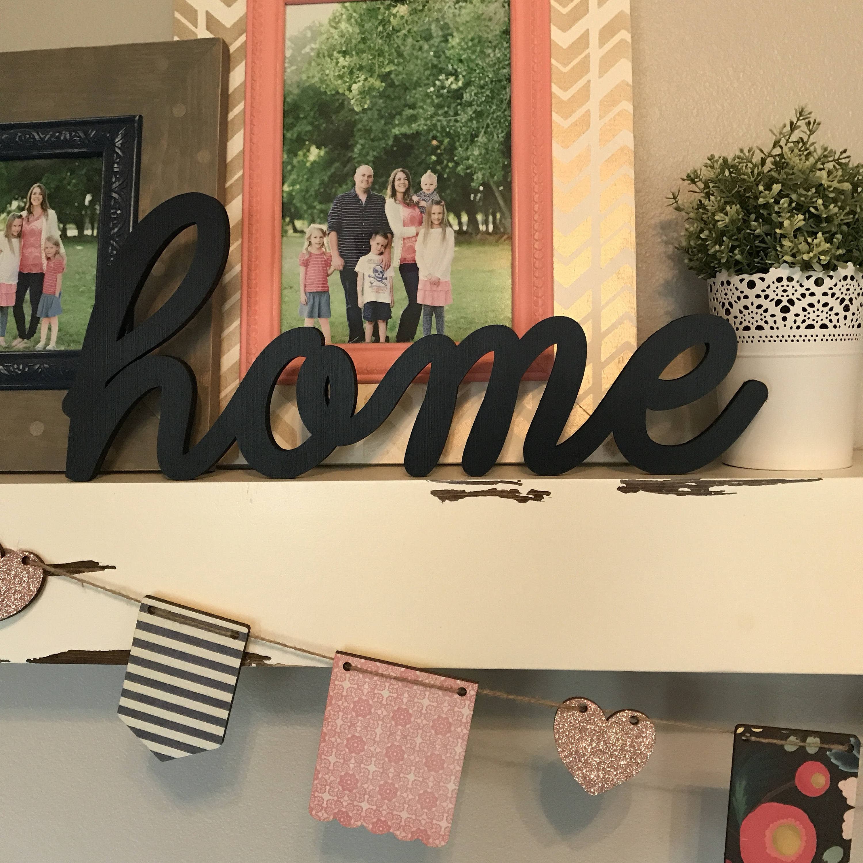Home Wood Word Cutout Laser Cut Word Home Sign Wall Decor | Etsy
