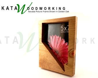 Nevada Wood Cut-out Picture Frame - Handmade
