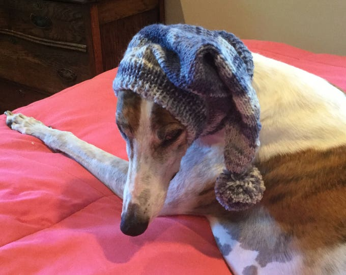 Pointed Hat with Snood for Greyhound - Magic 904 Lauren Blues
