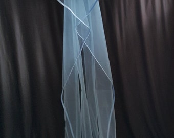 Cathedral Veil, Two Layers, Sky Blue