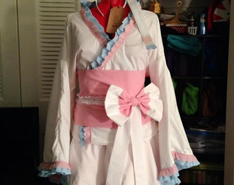 Sylveon/ Shiny Sylveon Kimono Dress