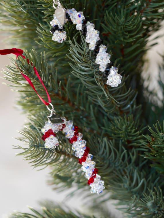 Swarovski®Crystal Keepsake Tree Decoration Merry Christmas Special Nan Gift
