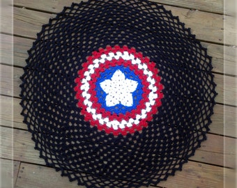 The Freedom Throw - Crochet Pattern