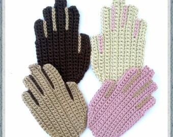 Helpful Hands Coaster - Crochet Pattern