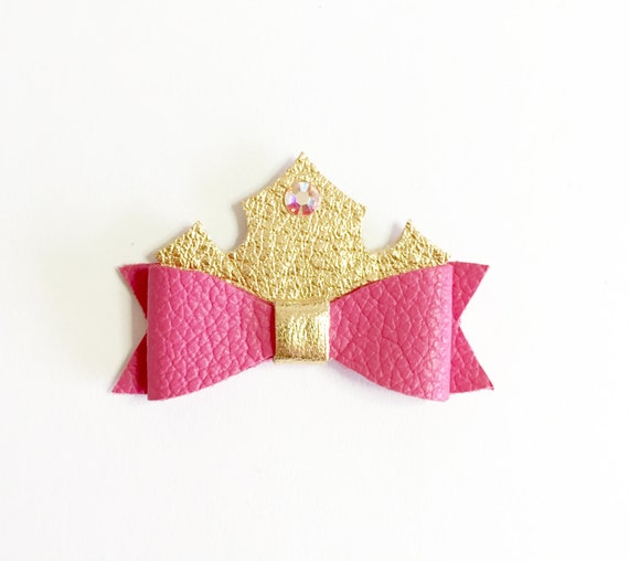 Sleeping Beauty Costume, halloween bow, Princess bows, disney princess, princess aurora, pink aurora bow, fourjaysbows, sleeping beauty