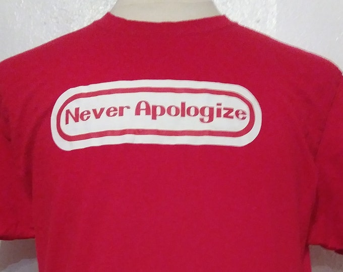 Never Apologize Nintendo