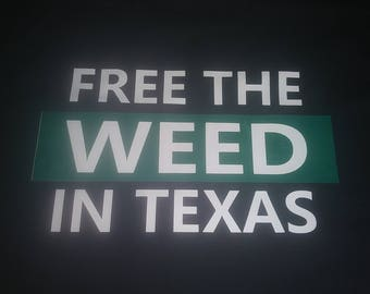 Free The Weed In Texas - WOMENS American made