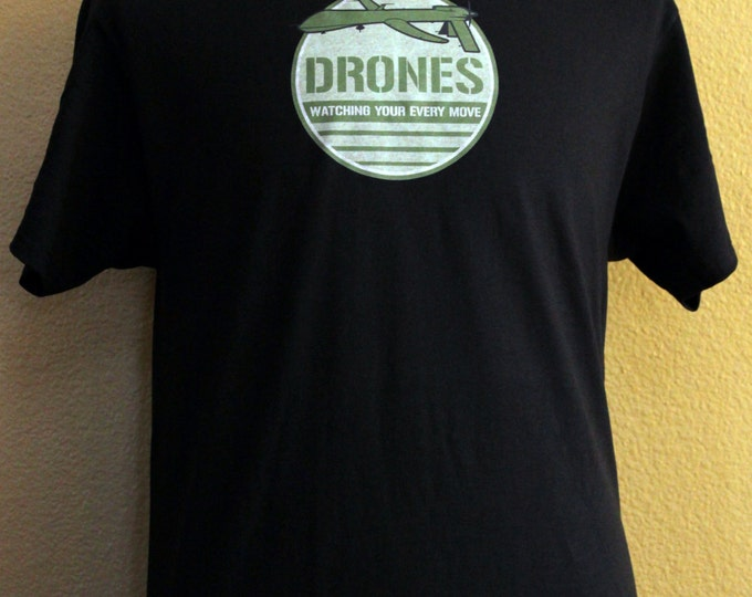 Drones Watching Your Every Move