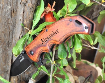 Personalized Engraved Knife, engraved pocket knife, pocket knife, Customized knife,  groomsmen knives, anniversary gift, gift for him