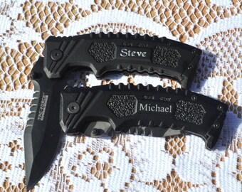 Pocket Knife , Engraved Best Man Gift , Engraved Knife , Best Man gift , Hunting Knife , Groomsman knife , Fathers Day  Gift Knife