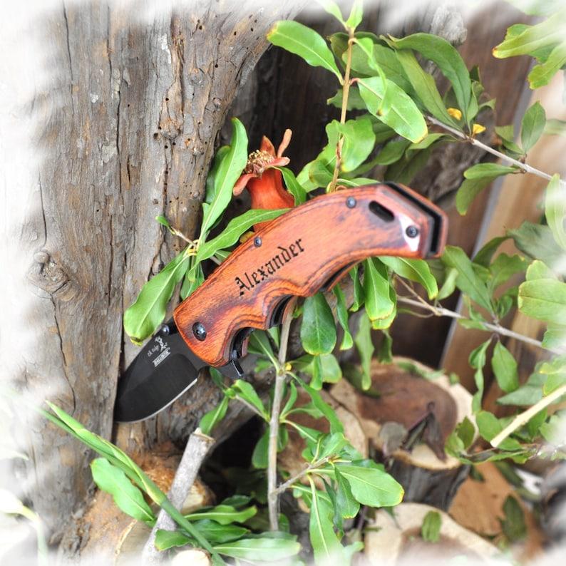Personalized Engraved Knife engraved pocket knife pocket image 0