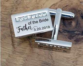 Personalized Cuff Links, Handwriting CuffLinks, Wedding Gift for Husband, Custom Cufflinks for Him
