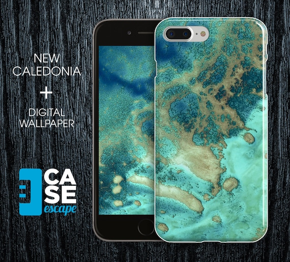 Geo Collection X New Caledonia Phone Case Iphone Xs Iphone 8 Plus Protective Iphone Case Galaxy S10 Nature Beach Ocean Case Escape