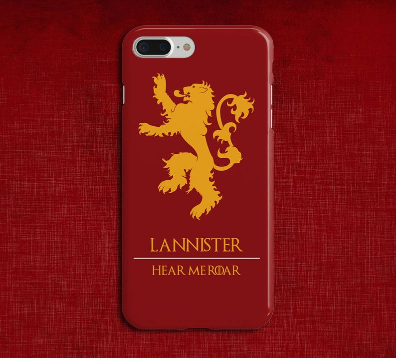 low priced a6e63 f83ab Lannister x Hear Me Roar x Game of Thrones Phone Case iPhone Xs, iPhone 8  Plus, Tough iPhone Case, Galaxy s10, Samsung Galaxy Case, Tyrion
