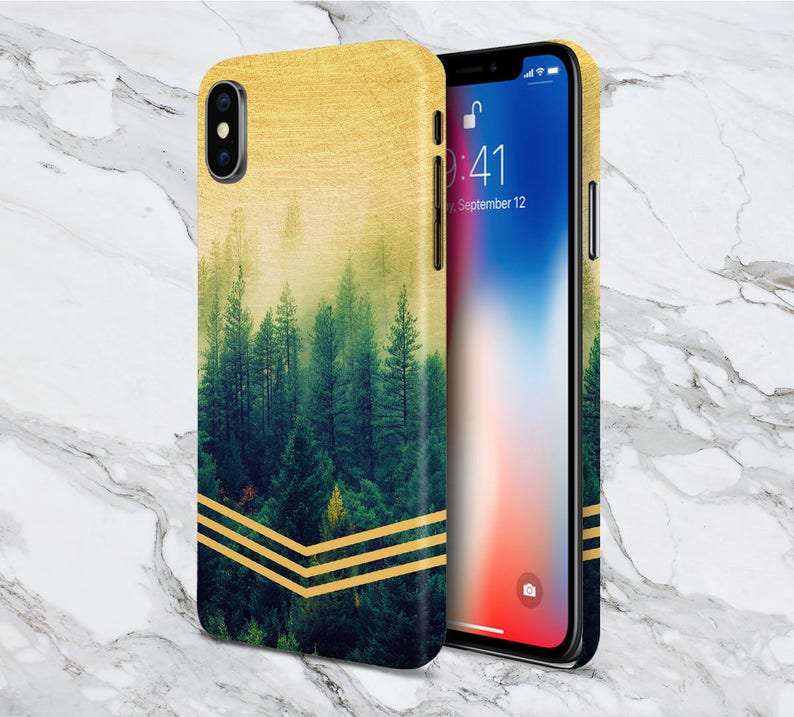 iphone xs case golden