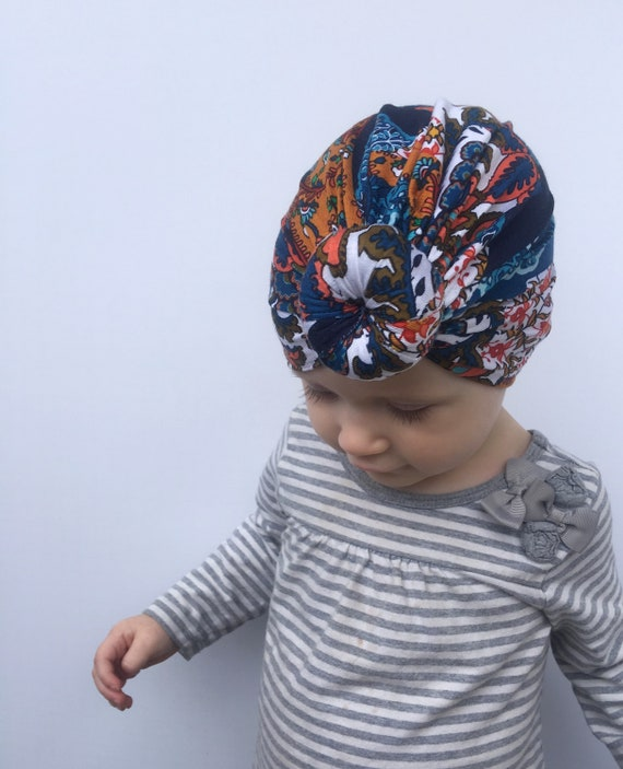 Knotted Paisley Turban