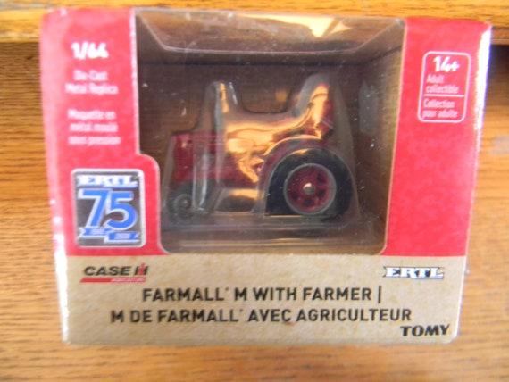 1//64 Ertl Farmall M with Man 75th Anniversary
