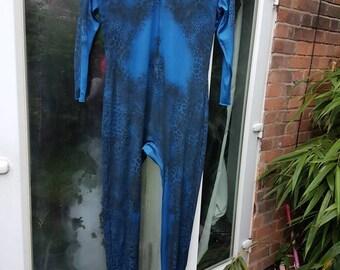 x men mystiq mystique blue catsuit and face latex prosthetic