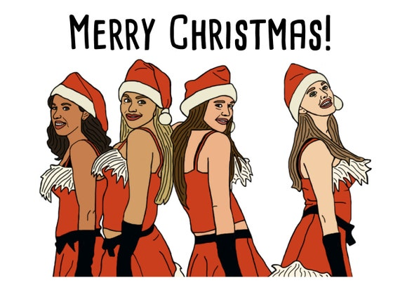 Mean Girls Christmas Card Etsy