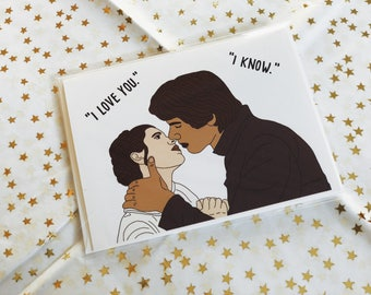 Han and Leia Valentine