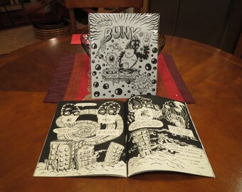 "Bunk #2:  ""The Mystifical Shambri-la"", Comic Art Zine"