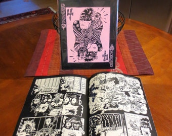 "Bunk #4: ""An Evening At the Imposium"" Comic Art Zine"