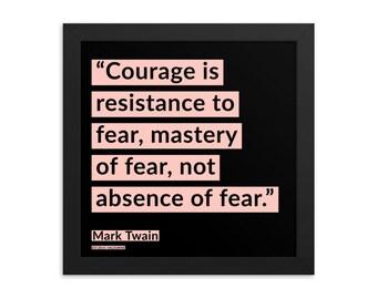 Mark Twain Framed Print Poster Quote 200908 Motivational Inspirational Inspiring Motivating 77