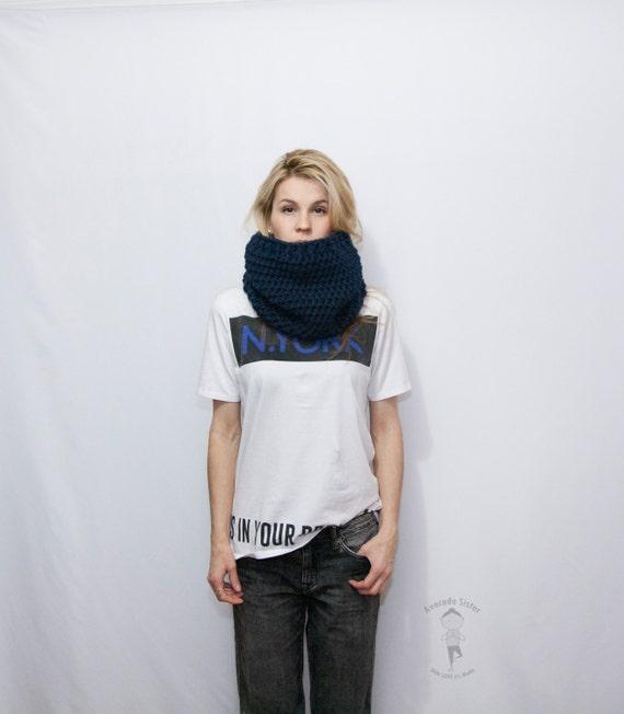 Bufanda capucha fornida Braga de cuello de la mujer punto | Etsy